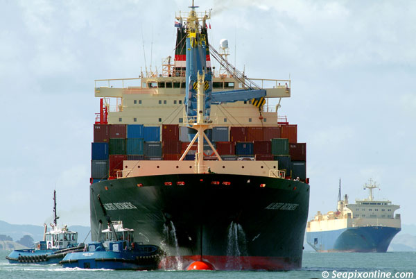 Albert Rickmers, CP Tui, Direct Tui, Contship Washington, Magic Wind, Maersk Wind, Waipapa, Waka... 9152741 ID 3286