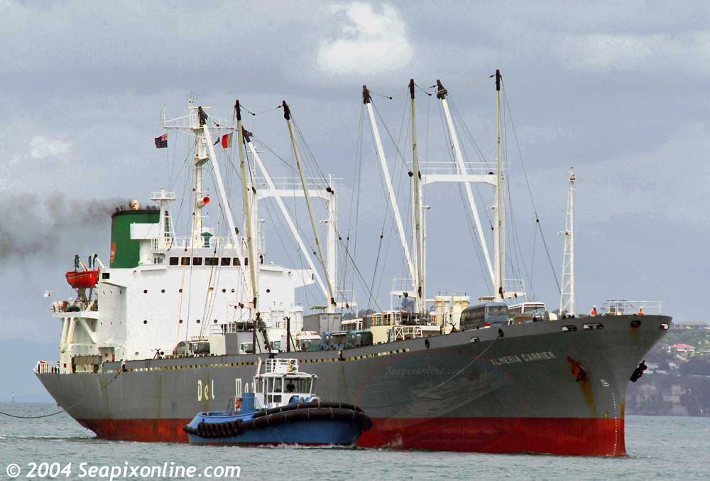 Almeria Carrier, Asuka Reefer 8300731 ID 1907