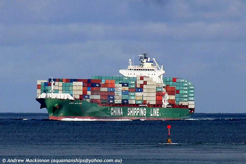 CSCL New York 9290115 ID 3987