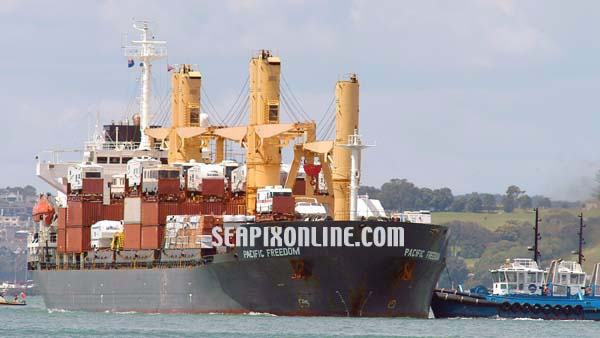 Pacific Freedom, Ilsabe Oldendorff, Ocean Hope, CSAV Livorno 9147617 ID 2291