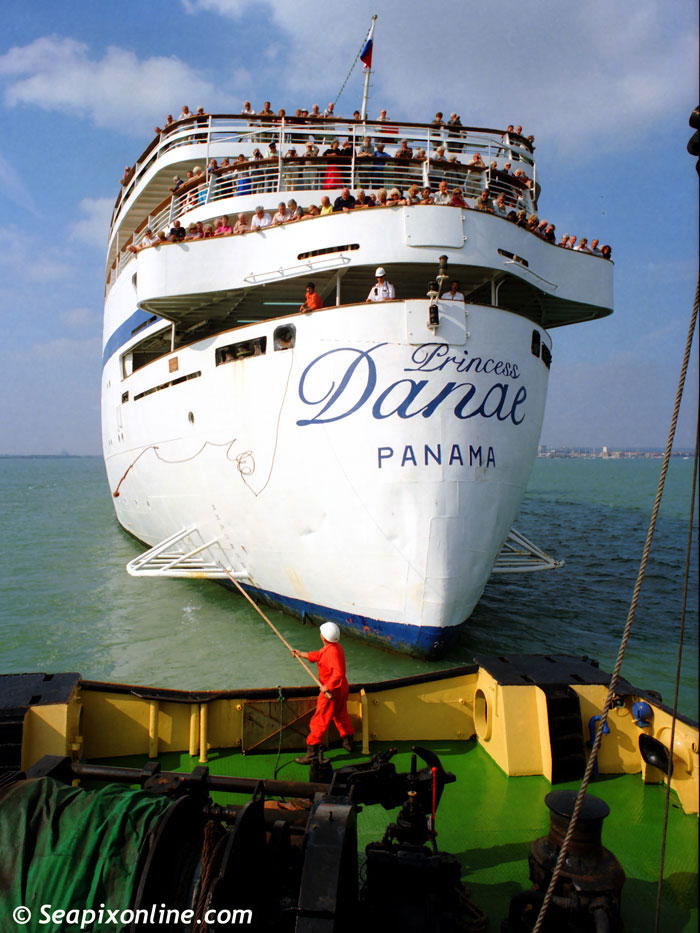 Princess Danae, Baltica, Starlight Express, Danae, Therissos Express, Port Melbourne, Anar, Lisboa 5282483 ID 1569