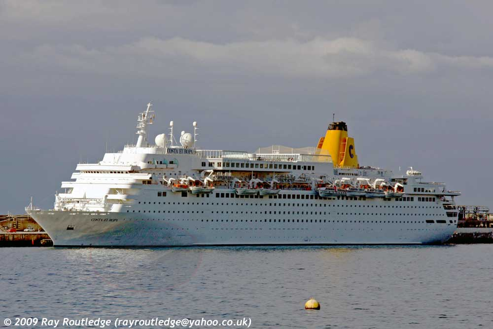 Costa Europa, Westerdam, Homeric, Thomson Dream 8407735 ID 5919