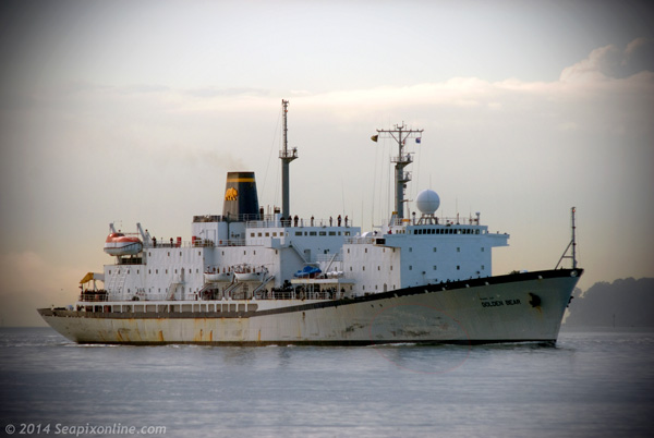 Golden Bear, USNS. Maury 8834407 ID 6908