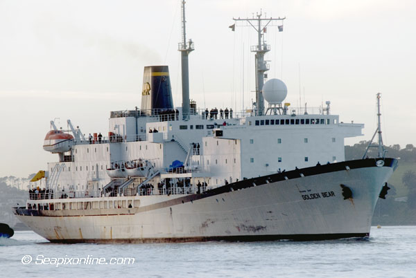 Golden Bear, USNS. Maury 8834407 ID 6909