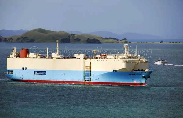 Maersk Cloud, Rich Victoria, Hoegh Cochin 8211526 ID 4053