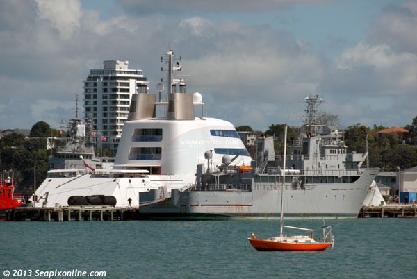 A, Project Sigma, HMNZS Resolution (A14), SF99, Geo Resolution ID 9187