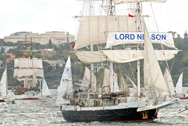 Lord Nelson, Picton Castle ID 9287