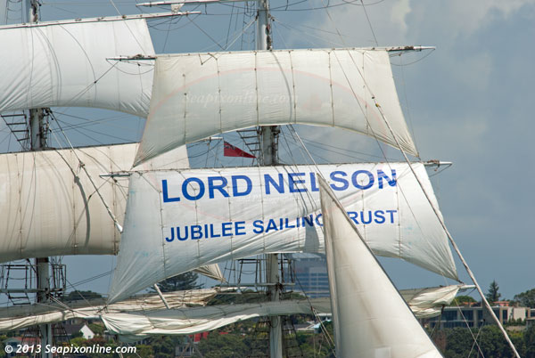 Lord Nelson ID 9309
