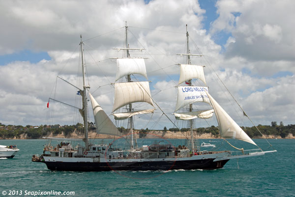 Lord Nelson ID 9304