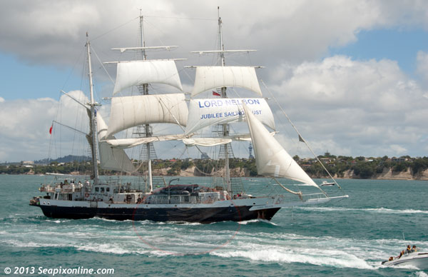 Lord Nelson ID 9305