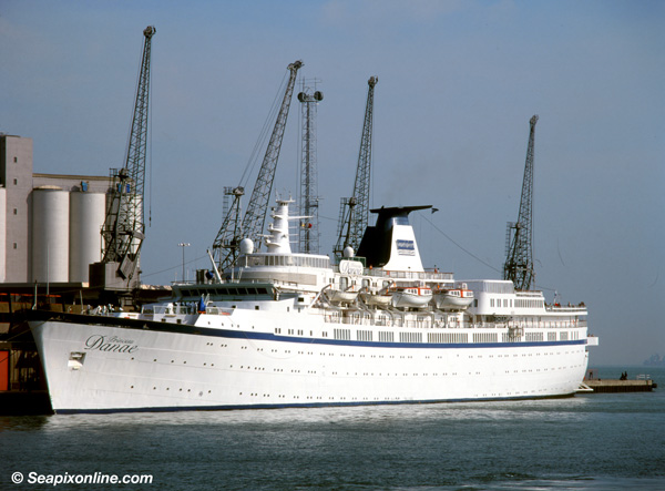 Princess Danae, Baltica, Starlight Express, Anar, Danae, Therissos Express, Port Melbourne, Lisboa 5282483 ID 7198