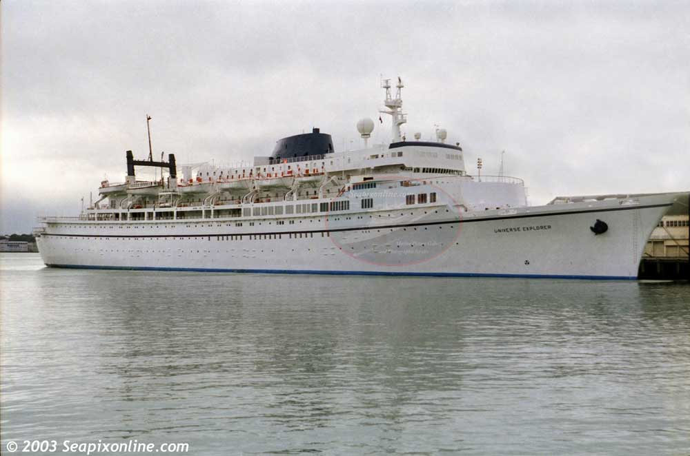 Universe Explorer, Enchanted Seas, Queen of Bermuda, Canada Star, Liberte, Island Sun, Volendam,... 5050567 ID 7456